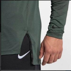 Mens Long Sleeve Nike Dri-Fit Utility Training Top
